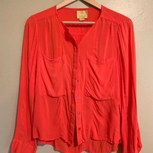 Maeve | Orange Blouse | 6P